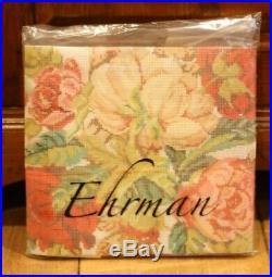 Ehrman Blooming Roses Blue David Merry Needlepoint Tapestry Kit Rare