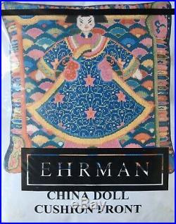 Ehrman China Doll tapestry needlepoint kit by Raymond Honeyman NEW