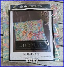 Ehrman Needlepoint Kit NEW Klimt Jade Never Opened