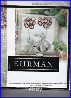 Ehrman Painted Ladies Floral Tapestry Kit 1999 Magi Hollingworth Rare