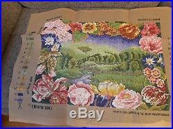 Ehrman Tapestry Canvas Kit Complete English Landscape Jill Gordon Circa 1995