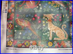 Ehrman Tapestry Hunting Rug Wool Needlepoint Kit New