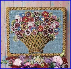 Ehrman Tapestry Kaffe Fassett BASKET OF FLOWERS Needlepoint Kit