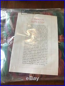 Ehrman Tapestry Kit FLEURS NIP Sealed New Flowers