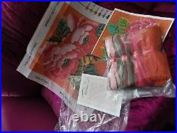 Ehrman Tapestry Kit Kaffe Fasset'pink Chinese Peonies' Circa 2014 Unused