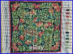 Ehrman Tapestry/needlepoint Kit Christmas Fruits By Kaffee Fassett