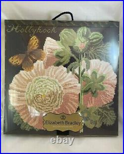 Elizabeth Bradley The Botanical Garden THE HOLLYHOCK Tapestry Complete Kit NEW