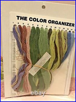 Elsa Williams JACOBEAN PANEL Crewel Embroidery Kit Linen New & Sealed OOP HTF