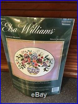 Elsa Williams Jacobean Delight Crewel Embroidery Kit #00484 New
