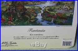 FANTASIA cross stitch kit DISNEY DREAMS Thomas Kinkade NIP 16 x 12