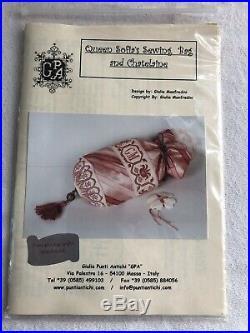 Giulia Punti Antichi Queen Sophia Sewing Bag & Chatelaine Kit Rare
