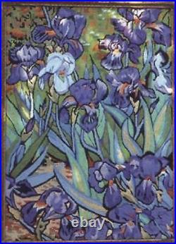 Glorafilia Needlepoint/Tapestry Kit Irises