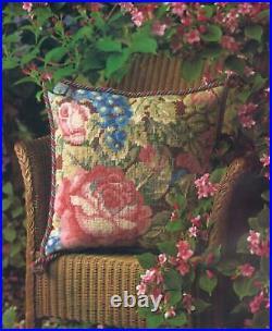 Glorafilia Tapestry/Needlepoint Kit Garden Roses