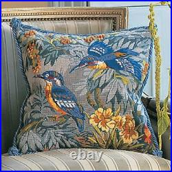 Glorafilia Tapestry/Needlepoint Kit Kingfishers