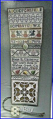 HTF Diane Clements ACORN ETUI Cross Stitch/Embroidery KIT