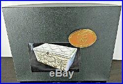 HTF Historic Needlework Guild Ltd Edition JOYS MANY & SORROWS FEW SEWING BOX KIT