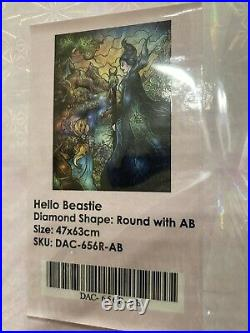 Hello Beastie, Dac, Diamond Art Club, Diamond Painting, Very Rare, Discontinued