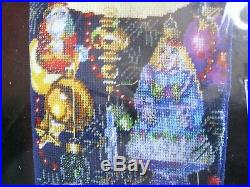 Holiday Bucilla Needlepoint Stocking Kit, CHRISTMAS ORNAMENTS, Rossi, 84645,18, NIP