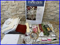 INSPIRATIONS Embroidery kit Strawberry Fayre Heart Shaped Necessaire