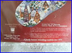 Janlynn Christmas Village Wool Needlepoint Stocking Kit 023-0212 Nancy Rossi