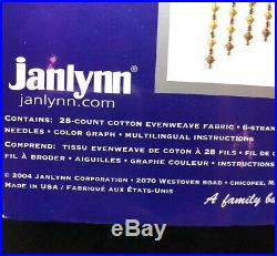 Janlynn Platinum Collection Paradise Floral Counted Cross Stitch Kit 023-0158
