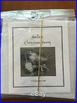 Just Nan Rare Kits Minerva's Mouse, Noella's Christmas Berry, LS Secret Garden