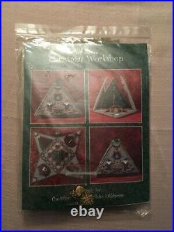 Just Nan Silver Needle Exclusive Christmas Workshop Cross Stitch Kit & Finishing