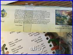 Kinkade Disney Bambi's First Year cross stitch kit #52504 12x16 NEW sealed