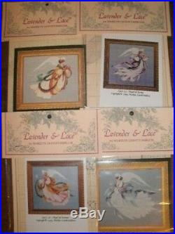 LOT of CROSS STITCH KIT ANGEL OF SUMMER, SPRING, WINTER and AUTUMN by L & L
