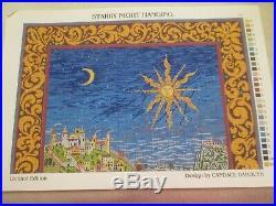 Large Starry Night-ehrman-needlepoint Kit-limited Edition