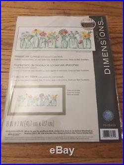 Lot 9 Dimensions Gold Collection Cross Stitch Kits Fairy Garden Kitten Flower