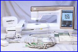 MINT BABY LOCK DESTINY SEWING, QUILTING, & EMBROIDERY MACHINE! With KITS 1 & 2