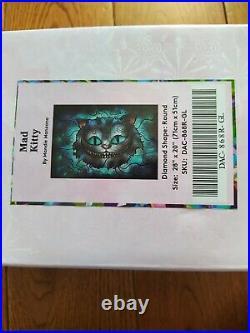 Mad Kitty Diamond Art Club DAC Painting Mandie Manzano Disney Cheshire Cat