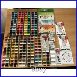 Madeira 194 Spool Embroidery Thread Set with Bonus Embroidery Kit New