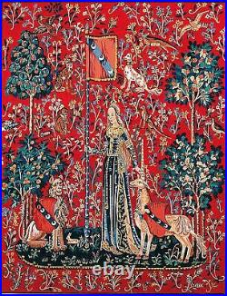 Margot de Paris Tapestry/Needlepoint Kit Lady and the Unicorn/Touch/Atlascraft