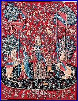 Margot de Paris Tapestry/Needlepoint Kit Lady and the Unicorn by Atlascraft