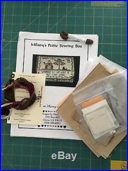Merry Cox Miladys Petite Sewing Box Kit Complete OOP