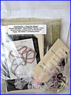 Merry Cox TEND THY SHEEP Counted Cross Stitch KIT with SHAKER BOX! FREE SHIP