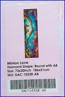 Minion Love Diamond Art Club DAC Painting Mandie Manzano Despicable Me Disney