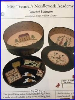 Miss Trenners Needlework Academy Cross Stitch Kit By With My Needle