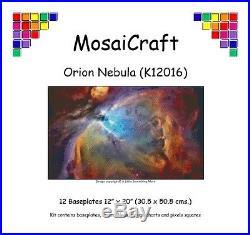 MosaiCraft Pixel Craft Mosaic Art Kit'Orion Nebula' Pixelhobby