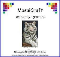MosaiCraft Pixel Craft Mosaic Art Kit /'Tiger/' Pixelhobby