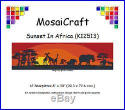 MosaiCraft Pixel Craft Mosaic Kit'Sunset In Africa' Pixelhobby
