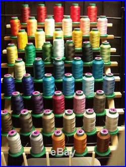NEW! 50 Cones Isacord Polyester Embroidery Thread Kit #6 New In Wrapper