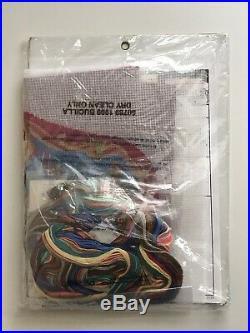 NEW! Bucilla Father Christmas Needlepoint Stocking Kit 60769 Nancy Rossi Sealed