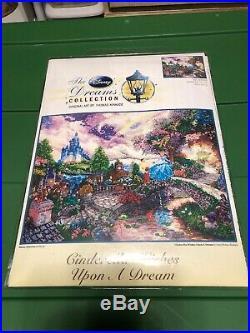 NEW! Disney Dreams Collection Thomas Kinkade Cinderella 16x12 Cross Stitch Kit
