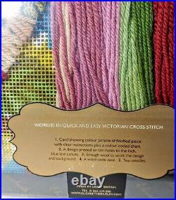 NEW Elizabeth Bradley Tapestry Needlepoint Kit MORNING GLORY Trellis Botanical