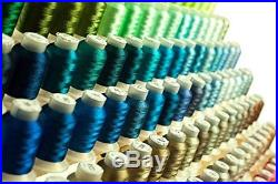 NEW Mega Kit 260 Spools Polyester Embroidery Machine Thread FREE SHIPPING