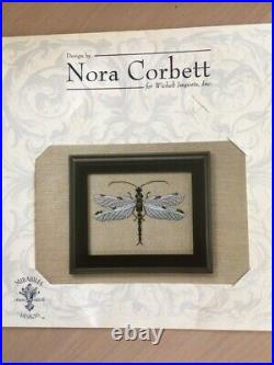 NORA CORBETT MIRABILIA The Silver Dragonfly with beads, braid 2006 NC102