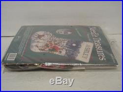 Needle Treasures Christmas Needlepoint Stocking Kit MIDNIGHT RIDE 6894 Sealed